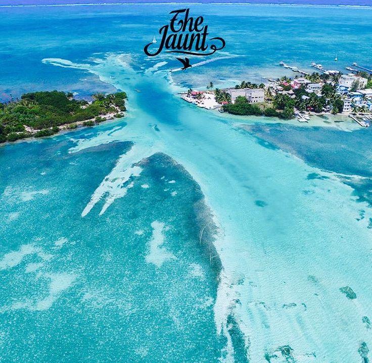 Split On caye caulker, Belize