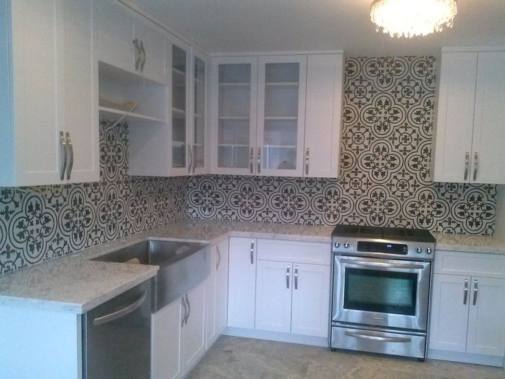 Cuban Tropical TileCo. Manufacturer of Handmade Cement Tiles - Projects Gallery -could do funky tiles as backsplash in kitchen