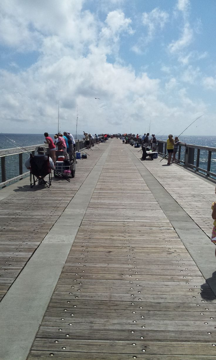 Fishing on the navarre beach pier or walking it 39 s a for Navarre beach fishing pier