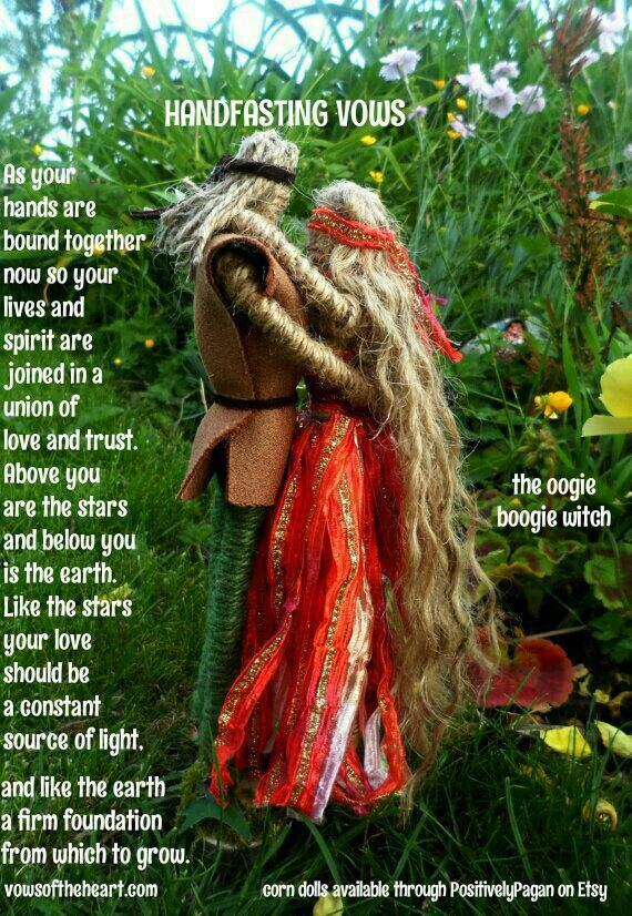 Handfasting vows