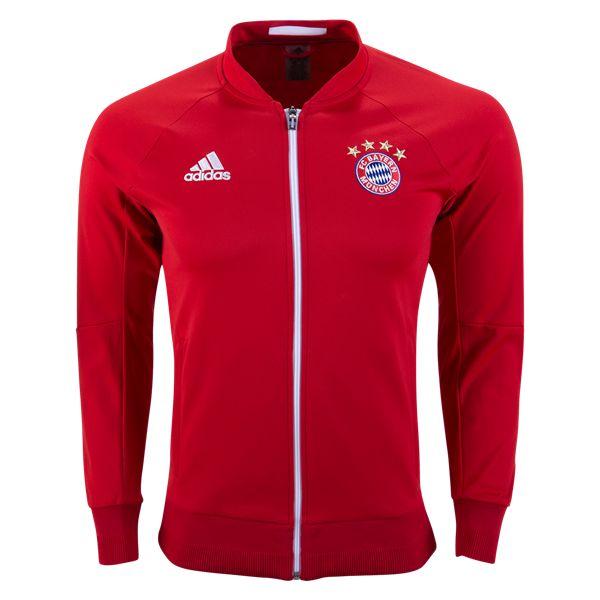 Bayern Munich 16/17 Anthem Jacket  | $89.99 | Holiday Gift & Stocking Stuffer ideas for the FC Bayern Munich fan at WorldSoccerShop.com