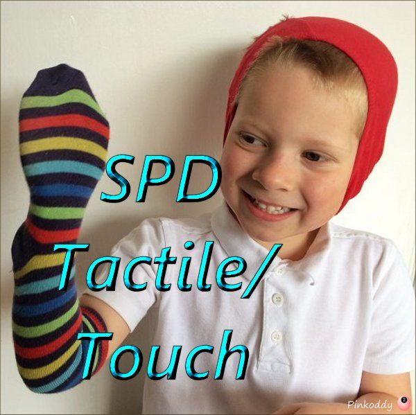 Does your Child have Sensory Processing Disorder problems in the Tactile Sense (Touch)? Identification and help for those Sensory Seekers, Sensory Avoiders, and those that flip between the two.