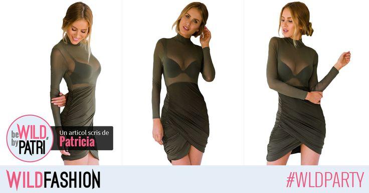 Hola, chicas! Iata o rochie extrem de frumoasa si sexy, perfecta pentru o seara in club! Like & Buy!