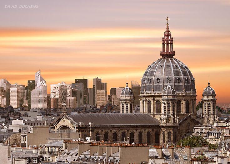 Saint Augustin church in Paris by David Duchens on 500px