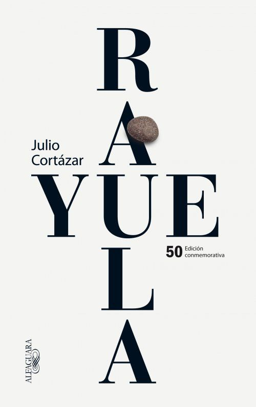 "Cover design: Estudio Pep Carrió. 50th Anniversary Spanish edition of ""Hopscotch,"" by Julio Cortázar. (Alfaguara, 2013.)"