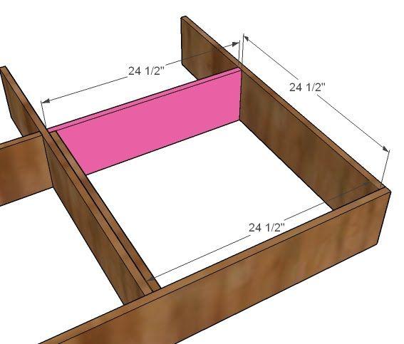 Easy Diy Storage Bed
