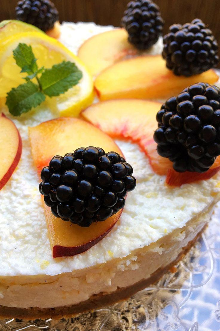 Fantasztikus gyümölcstorta 15 perc alatt és még a sütőt sem kell bekapcsolnod!
