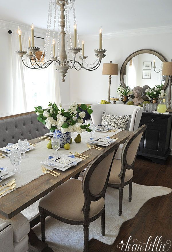 french country dining room                                                                                                                                                                                 More