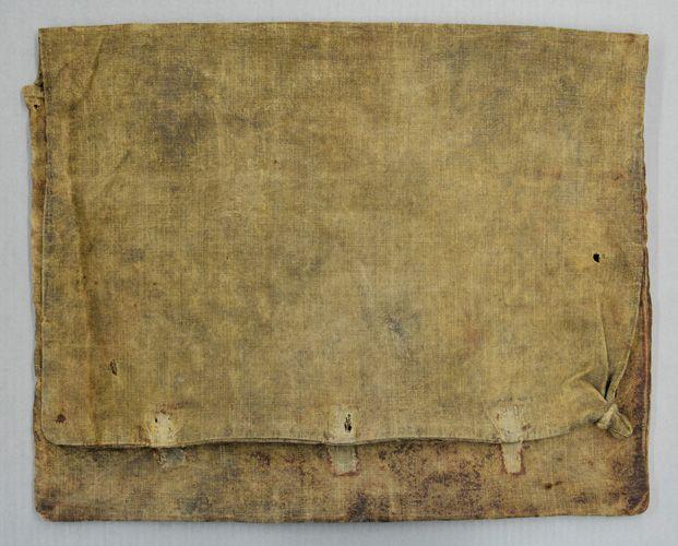 Benjamin Warner's knapsack.