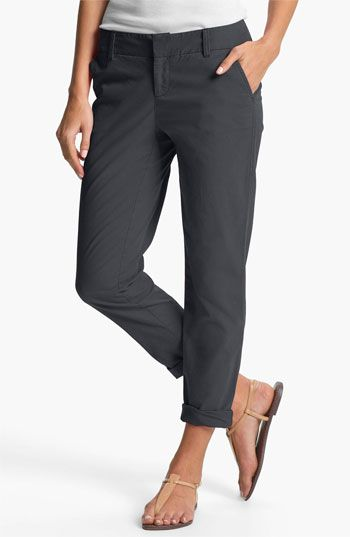 Caslon® Chino Ankle Pants | Nordstrom  want these in a couple colors