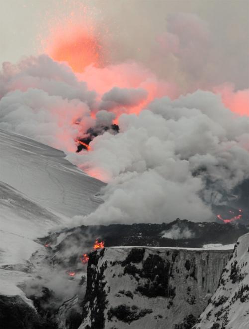 Iceland Volcano 2011