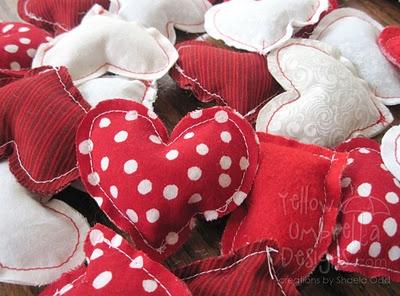 Sy hjärtan till Alla-hjärtansdag