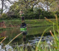 Fishing Skill: How To Balance On Your Kayak Like A Ninja (VIDEO) | Kayak Angler Magazine | Rapid Media