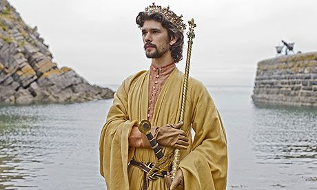 The Hollow Crown.  Richard II  Within the hollow crown  That rounds the mortal temples of a king  Keeps Death his court and there the antick sits,  Scoffing his state and grinning at his pomp.  Richard II, 3. 2