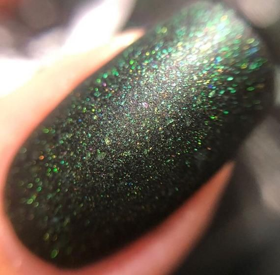 Space Oddity – matte nail polish – matte – 5 free – handmade – indie nail polish…