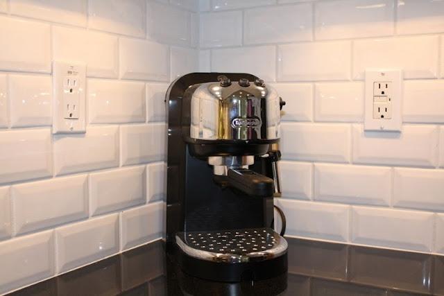 Kitchen Backsplash Beveled Subway Tile beveled subway tile backsplash | monochrome - a color board
