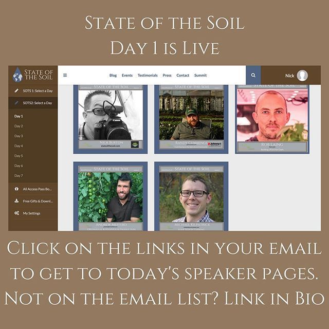 State of the Soil is live. Day one is up and running. Link in bio for access to farm business marketing heratage future and community building. Looking forward to a strong start with @farm.one @johnnys_seeds @growingformarketmagazine and @inthefieldconsultants  #seeds #chefs #nycchef #manhattan #urbanfarming #hydroponics #soilgrown #soil #hoophouse #greenhouse #nrcs #csa #johnnyseeds #farmersmarket #stateofthesoil #farm #farmer #marketgarden #slowfood #localfood #eatlocal #shopsmall…