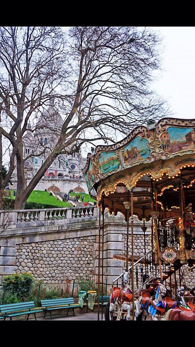 The carousel , Sacrecour France