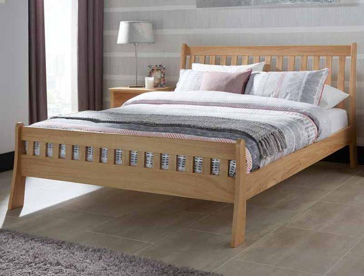 colchester solid oak bed frame