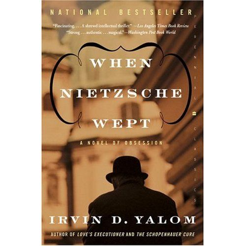 Irvin D. Yalom - When Nietzsche wept. I didn't weep but I was very taken by it. One of the best books I read last year.