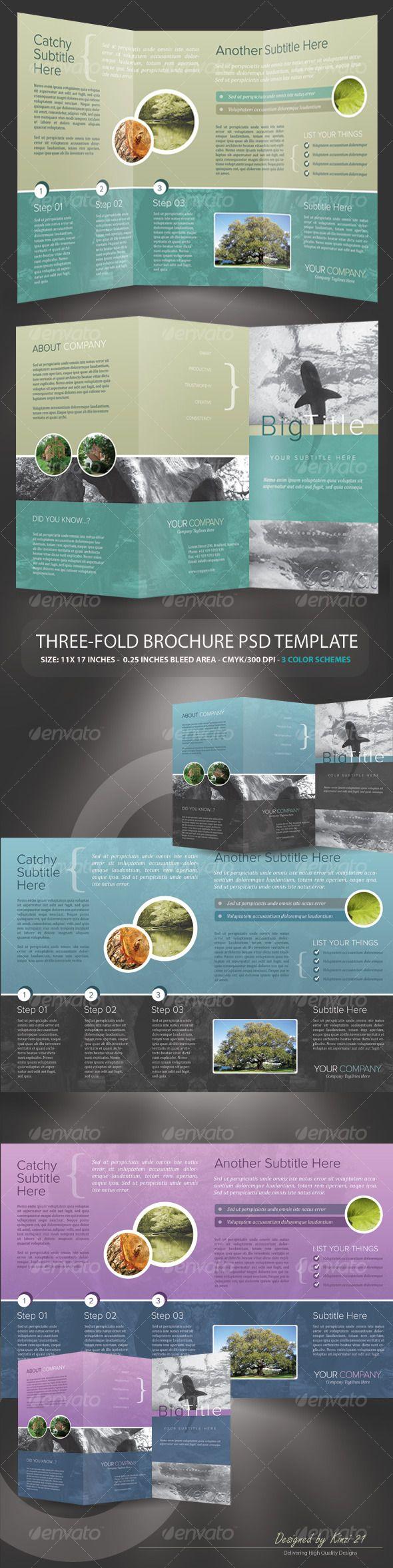 Printable Tri Fold Brochure Template 7 Best Flyersbrochures Images On Pinterest  Business Flyers .