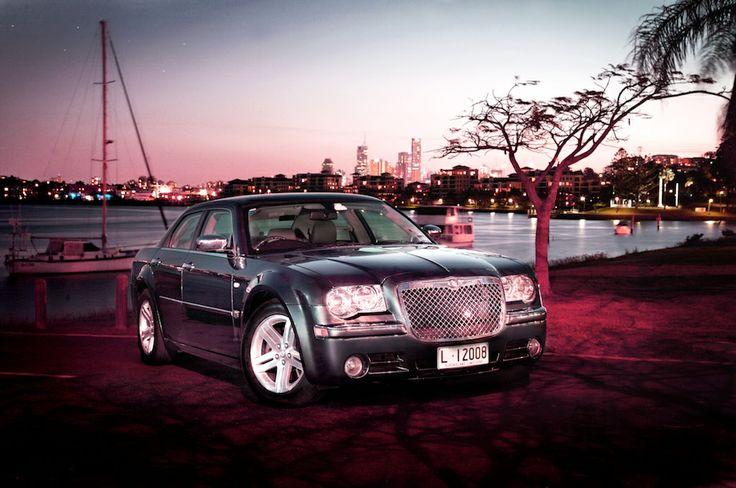 Chrysler 300C Blue