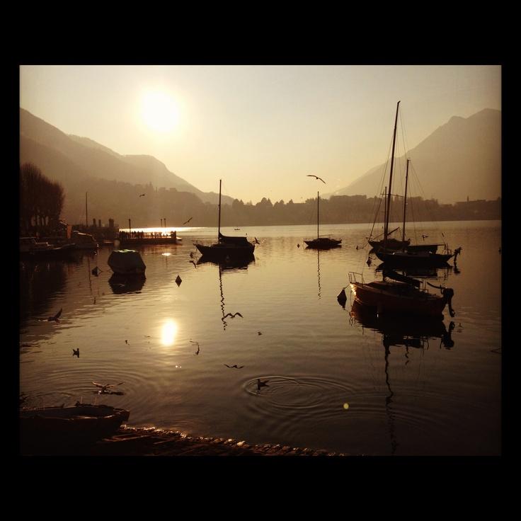 Lake Lecco, Italy