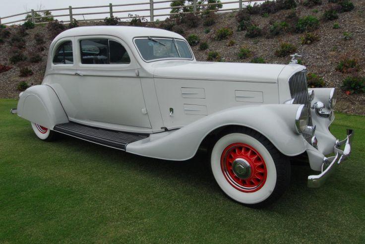 1934 Pierce Arrow Silver 2-door coupe