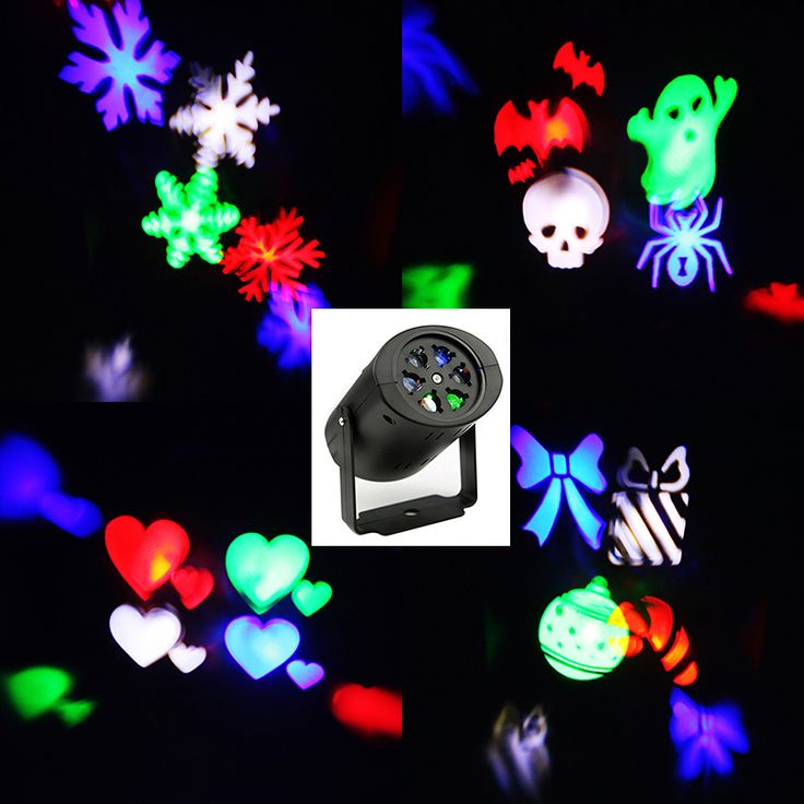 Laser projecteur lampes led stage de lumi re coeur for Eclairage de noel laser