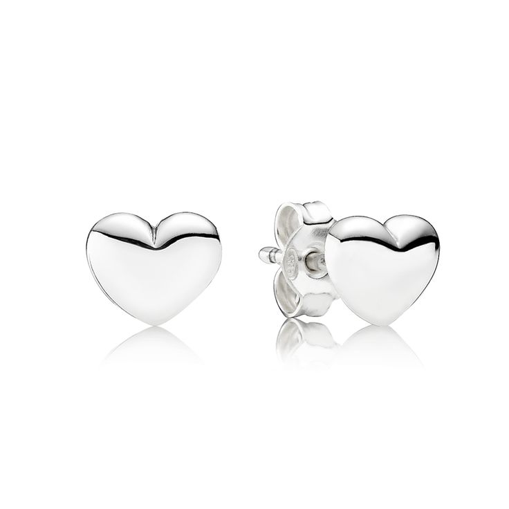 PANDORA | Hearts Stud Earrings