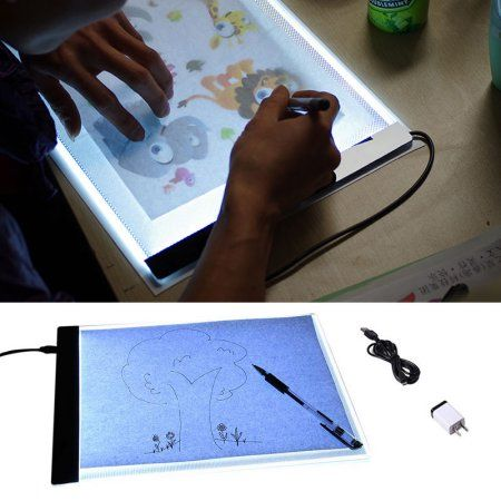 Arts Crafts Sewing Drawing For Kids Portable Light Box Drawing Stencils