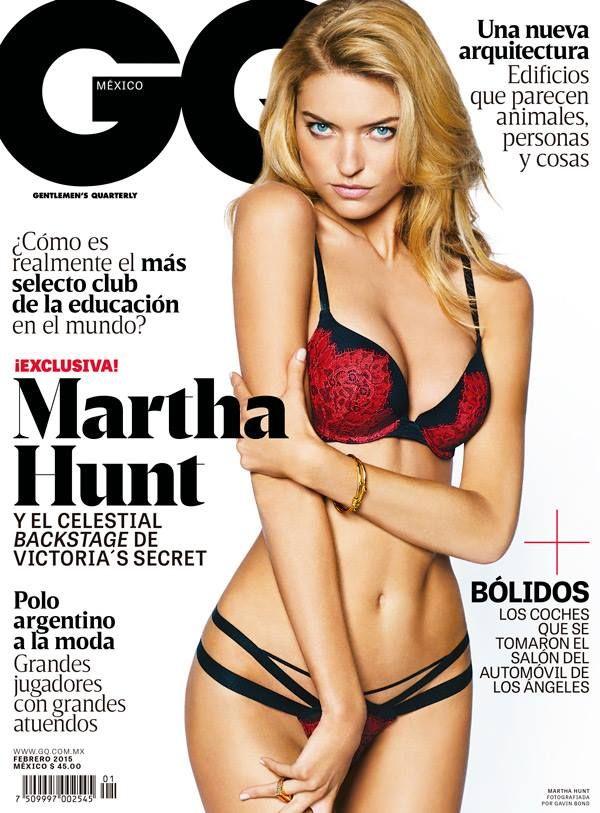 Nuestro ángel de portada es la modelo Martha Hunt. Conócela: http://www.gq.com.mx/mujeres/articulos/martha-hunt-la-modelo-de-oro/2779