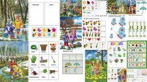 весна картинки для детей материалы для тематического занятия free spring worksheets for kids