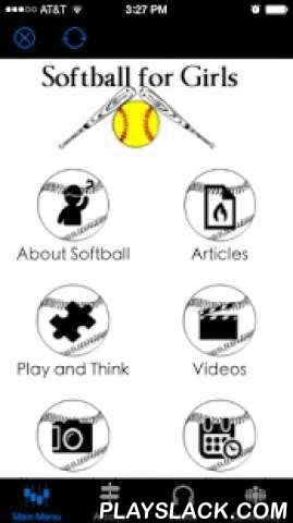 """The Softball App For Girls  Android App - playslack.com ,  The Softball App for Girls Free!""""The Essential Softball for Girls App for 2015"""" Packed full of amazing features, you will seriously not want to miss this! Featuring - YouTube Channels1. USA Softball Videos2. Softball Drills Videos3. Softball Power Drive Videos4. Fast Pitch Power Videos5. Fast Pitch TV Videos6. Diamond Academy 7 Videos7. Winning Softball Videos8. Softball College Recruiting Videos*Get Social with Softball for Girls…"""