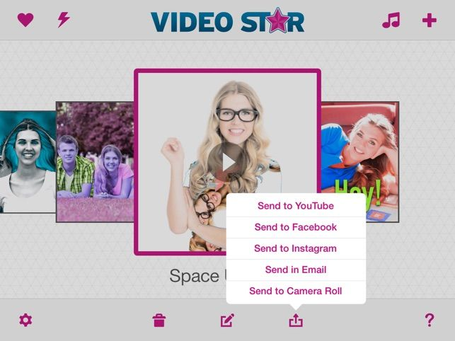 برنامج فيديو ستار بلس للايفون Video Star 2020 مجانا Instagram Spaces Instagram Youtube