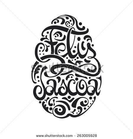 Happy Easter Egg Portuguese Lettering Ornament Decoration #greeting #decoration #font #green #floral #white #spring #ornament #flower #egg #vector #holiday #symbol #letter #celebration #calligraphic #card #typography #gift #black #type #season #illustration #easter #retro #design #lettering #text #swirl #poster #art #ornate #vintage #background #message #pattern #calligraphy #happy #portuguese #pascoa #feliz