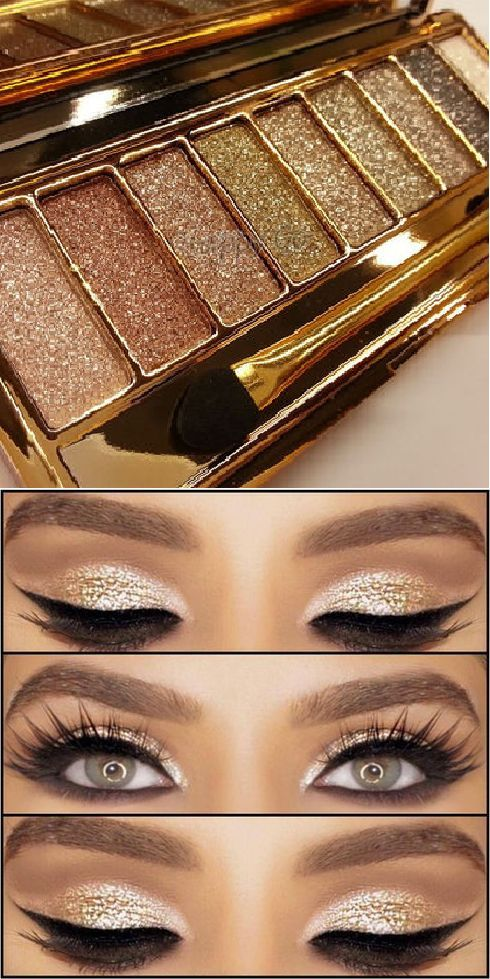 Only $15.99 + Free Shipping in the US! 2017's Gorgeous Glitter Eye Shadow Palette Set. Buy yours today at sale price from www.FamilyDeals.store