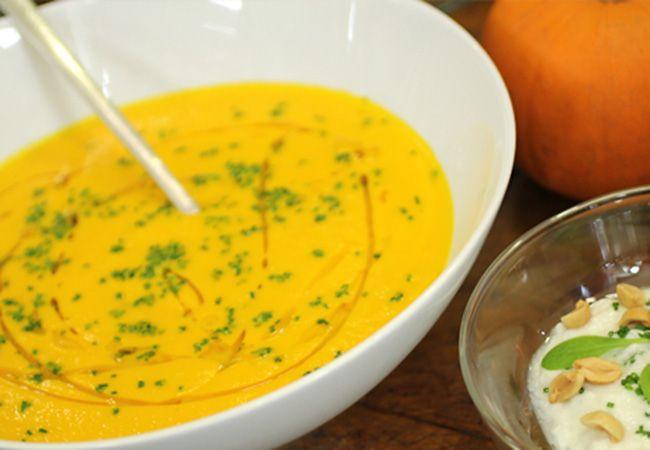 No te pierdas esta maravillosa receta de Martín Berasategui. Sopa de zanahoria, naranja y limoncillo perfecta para finalizar las fiestas.