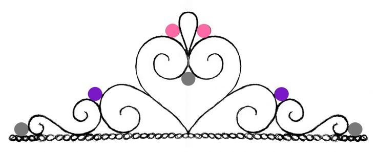 Pin Princess Crown Template To Print Tiara Party Hat Cake on Pinterest