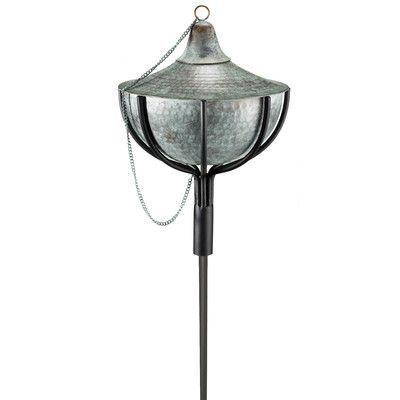 Good Directions Torch Finish: Blue Verde Copper, Size: Large
