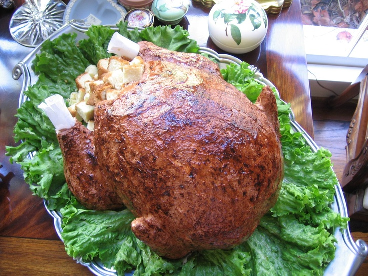 Turkey Cake ~ Yes, this is a cake