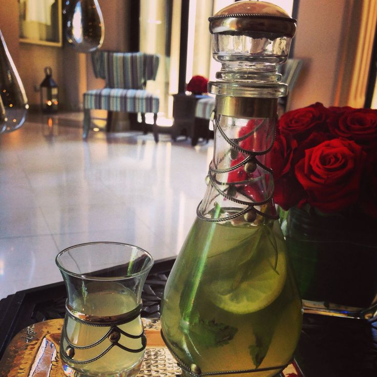 Welcome Drink at our spa @Four Seasons Resort Marrakech