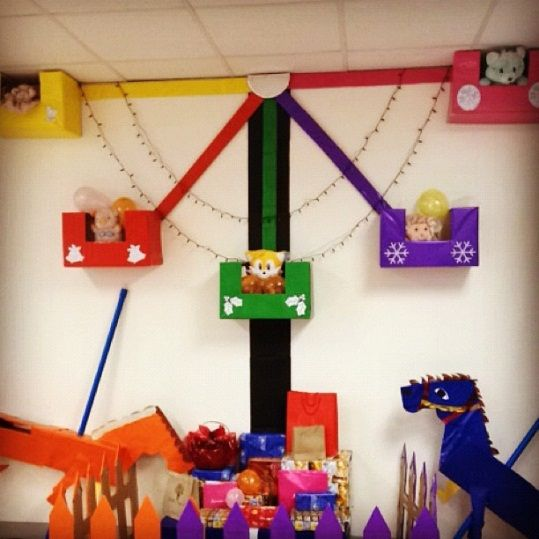 "vbs colossal coaster decoration ideas | Lindsay Sisting, ""Decorating Tips for Amusement Park VBS Themes ..."