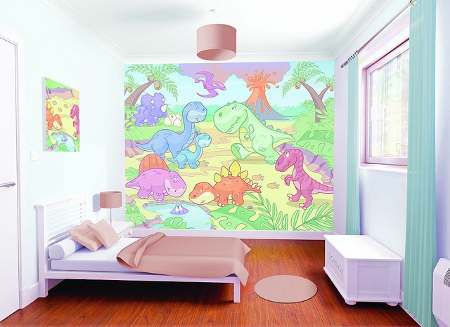 Nursery Dino Bedoom Scene 1MB by NewBabyBerry, via Flickr