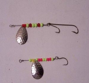 Easy Homemade Fishing Lures | june bug spinner