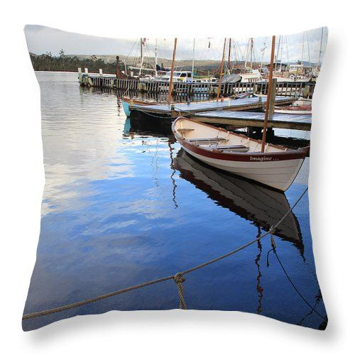 Turn an art piece into a cushion. Amazing!