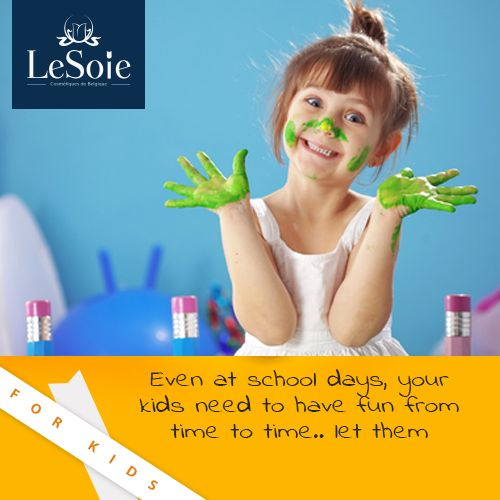 Even at school days, your kids need to have  Fun from time to time. Let them  حتي في أيام الدراسة .. يحتاج أطفال للمرح من وقت لآخر .. دعيهم
