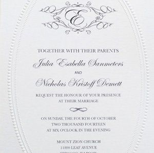 138 best diy wedding invitations images on pinterest diy wedding monogram wedding invitation printable monogram wedding invitationselegant solutioingenieria Image collections