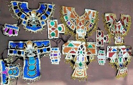Ropa De Danza Azteca | Fotos de AZTECA TRAJE DANZA PREHISPANICA CONCHEROS VIRGEN DE GUADALUPE ...