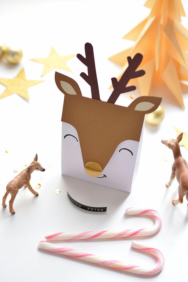 Kerstmis 2016 - Rendier cadeau doosjes 2